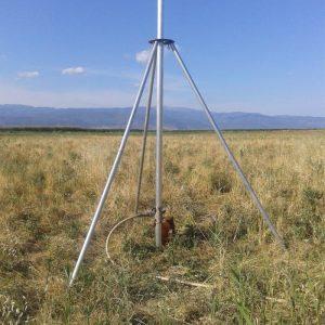 Θέση δειγματοληψίας εδάφους στο Δέλτα