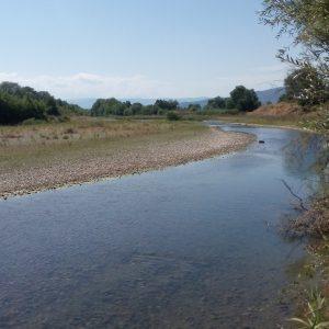 Μέσος ρους Σπερχειού ποταμού
